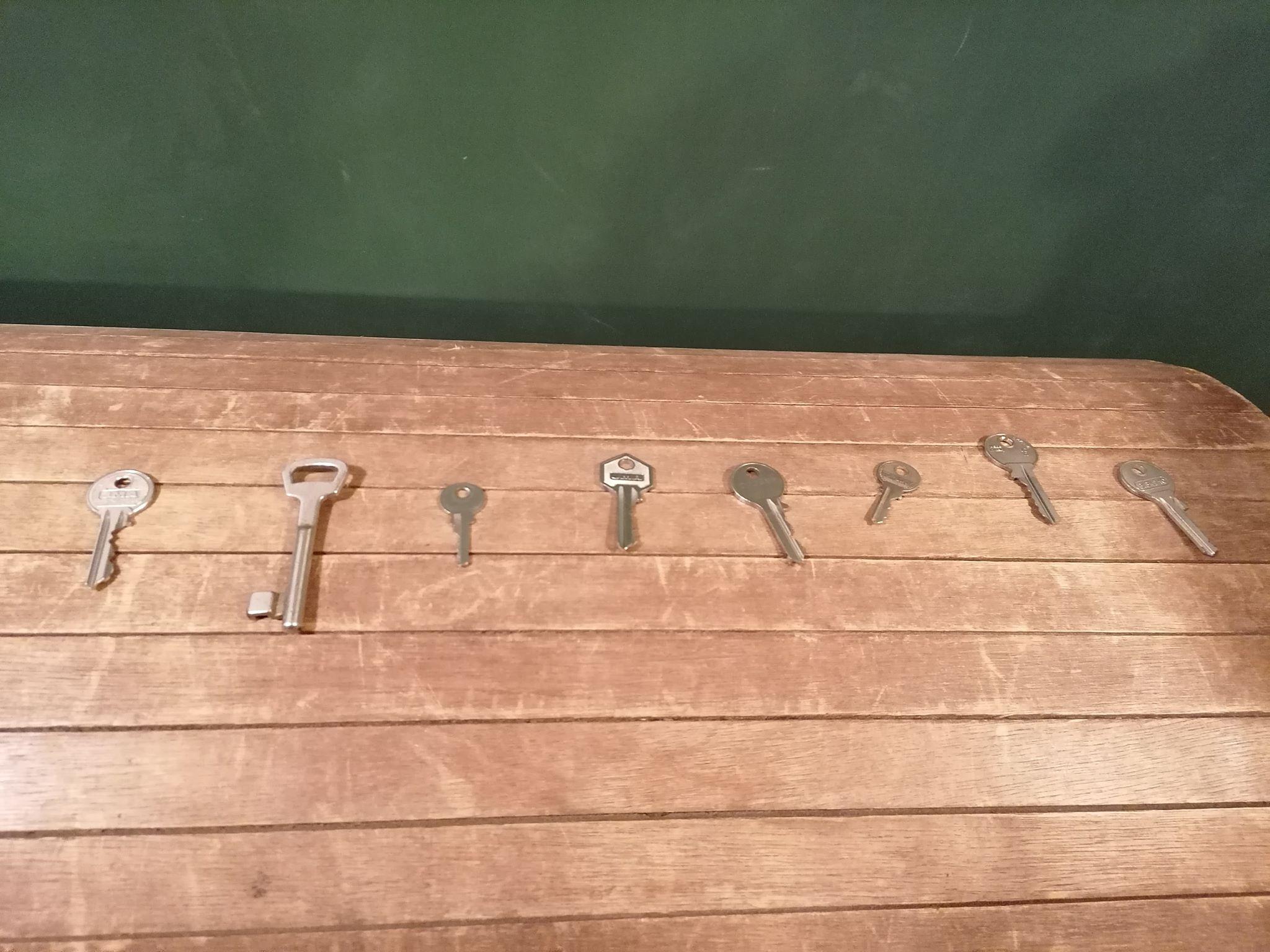 Les clés gagnées!